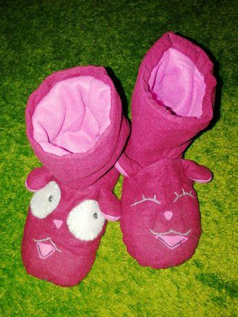 Тапочки сапожки ручной работы женские детские до 37 размера