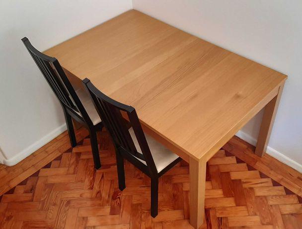 Mesa e cadeiras IKEA - BJURSTA e BÖRJE