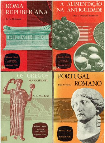 5930 - Arqueologia - Colecção Historia Mundi da Editorial Verbo