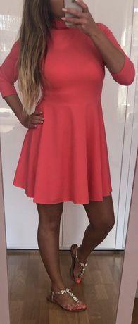 Różowa sukienka nowa rozmiar uniwersalny