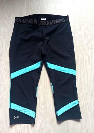 Spodnie legginsy under armour, siłownia, ćwiczenia