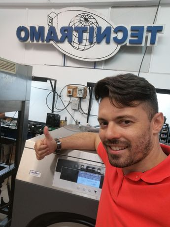 Máquina de lavar roupa industrial Self-service restaurantes secador