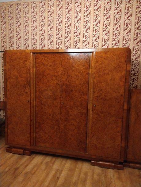 meble sypialniane z lat 50-tych