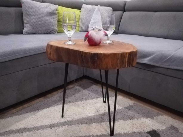 Stolik z drzewa kawowy