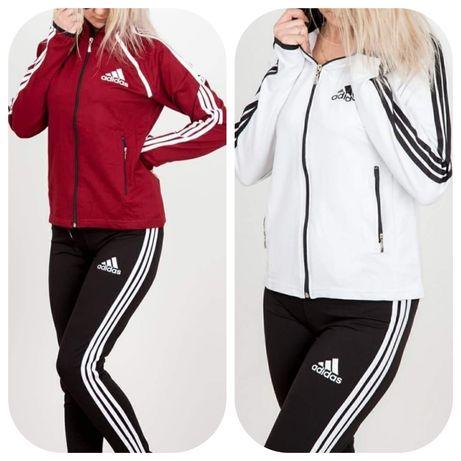 Dres zestaw damski bluza spodnie Adidas s m I xl
