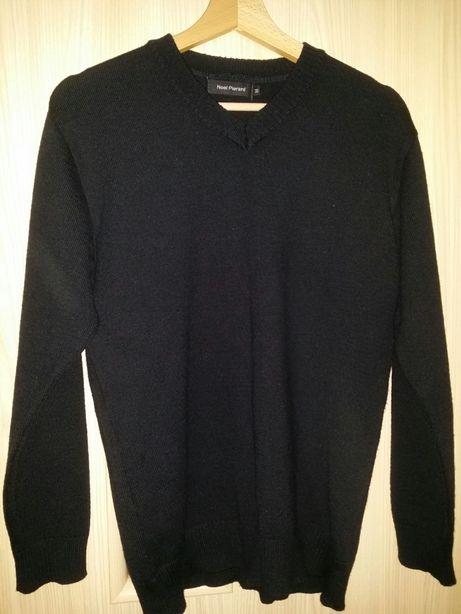 Sweter męski, rozmiar M, kolor czarny, jakość bardzo dobra