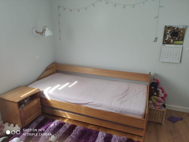Łóżko Bolek i Lolek (podwójne) z szafką