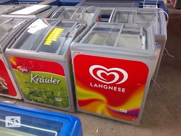 Ларі морозильні, різні розміри