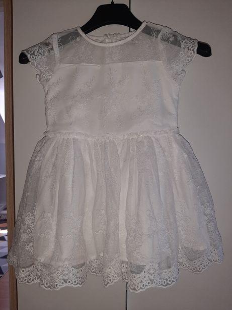 Piękna sukienka Koronkowa RESERVED 98