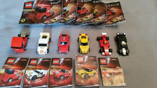 LEGO Ferrari Shell V-Pover 30190, 30191, 30192, 30193, 30194, 30195