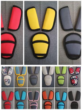 Мягкие накладки на ремни безопасности автокресла запчасти
