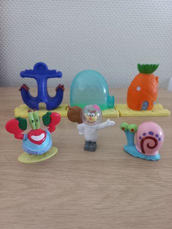 Игрушки Sponge Bob McDonalds