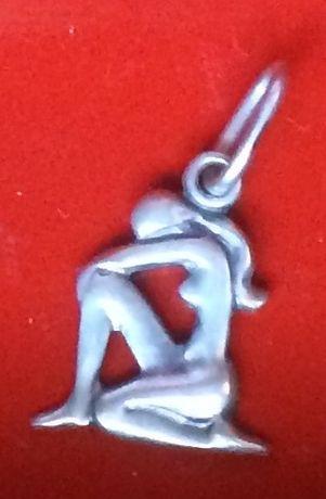 Продам серебряные подвески - знак зодиака Дева