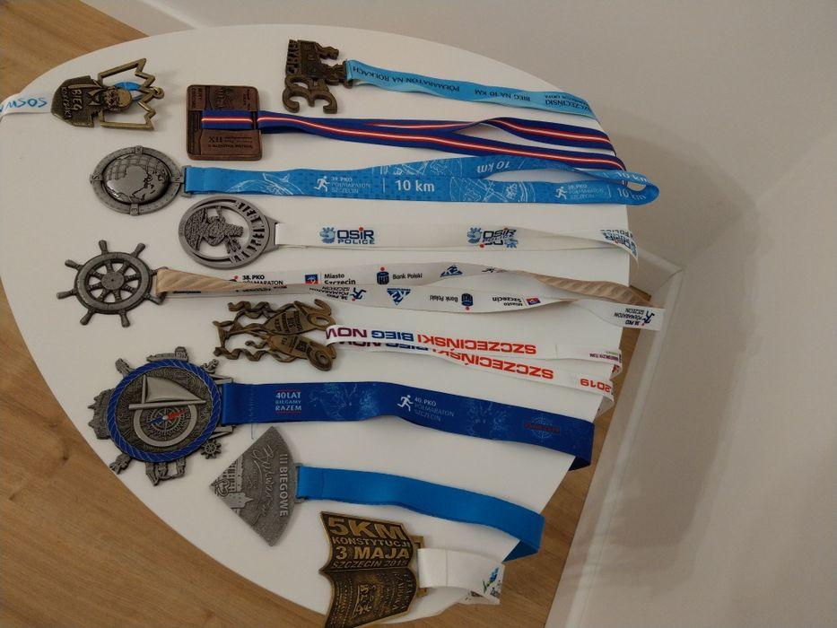 medale z biegów (ładne) Szczecin - image 1