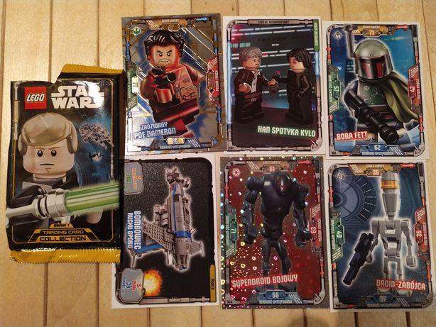 """6 kart kolekcjonerskich """"LEGO STAR WARS"""""""