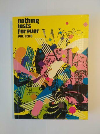 Livro Nothing Lasts Forever Vol. 1 to 8 - Design / Ilustração