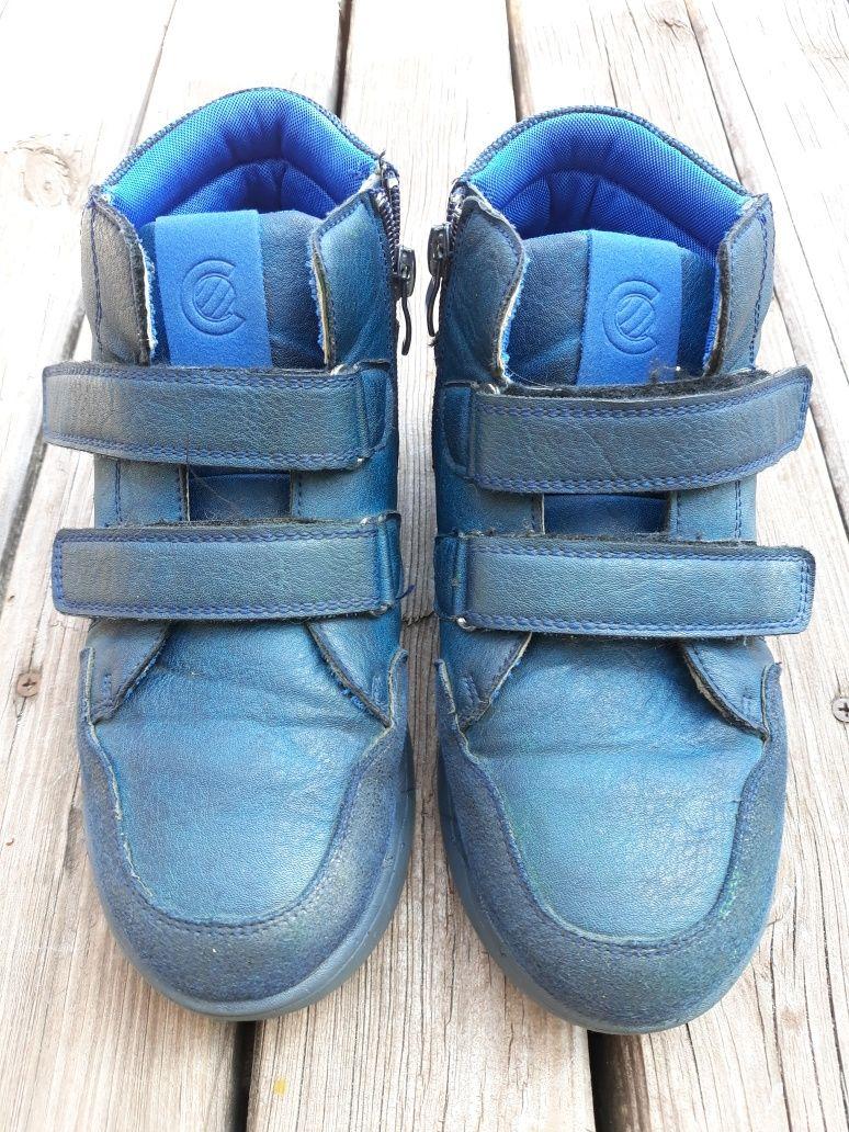 Ботинки демисезонные 35-36 , стелька 23 см