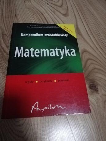 Kompendium szóstoklasisty Matematyka
