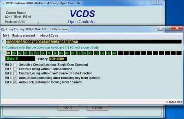 Kody,Loginy,Kodowania Skoda,Audi,VW - VAS VCDS VAG