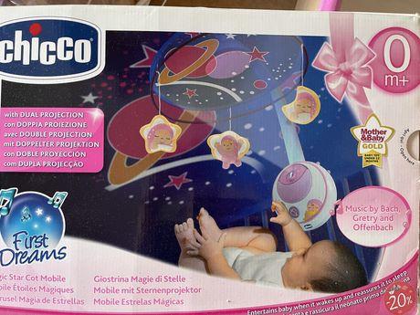 Мобиль на кроватку Chicco Волшебные звезды