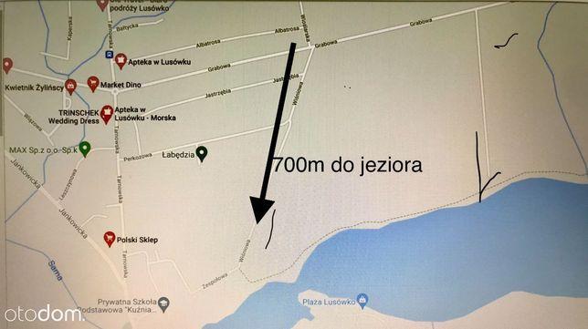 OKAZJA !!! Działka 1559m2 przy JEZIORZE w Lusówku