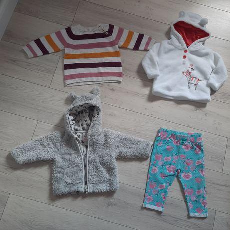 Bluza sweter spodnie 62/68 H&M Smyk