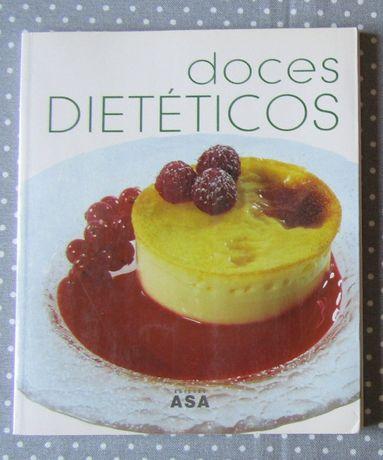 """Livro """"Doces Dietéticos"""""""
