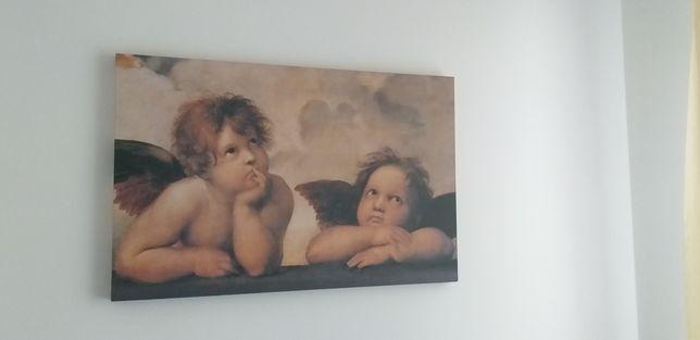 Duży Obraz anioły