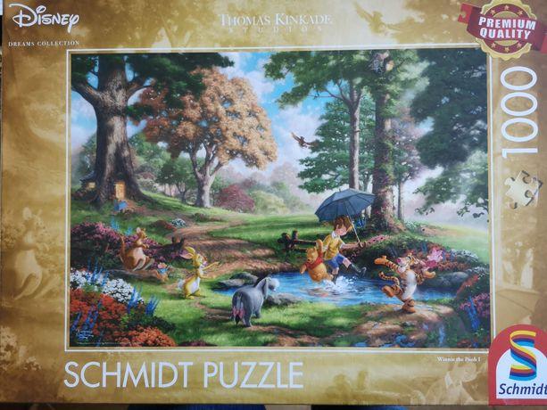 NOWE puzzle Schmidt 1000el Kubuś Puchatek
