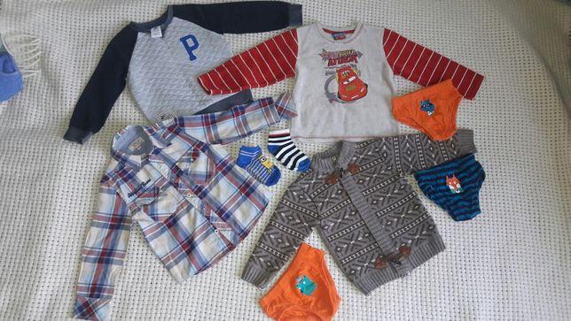 Рубашка кофта E-Bound 98 104 трусики носочки