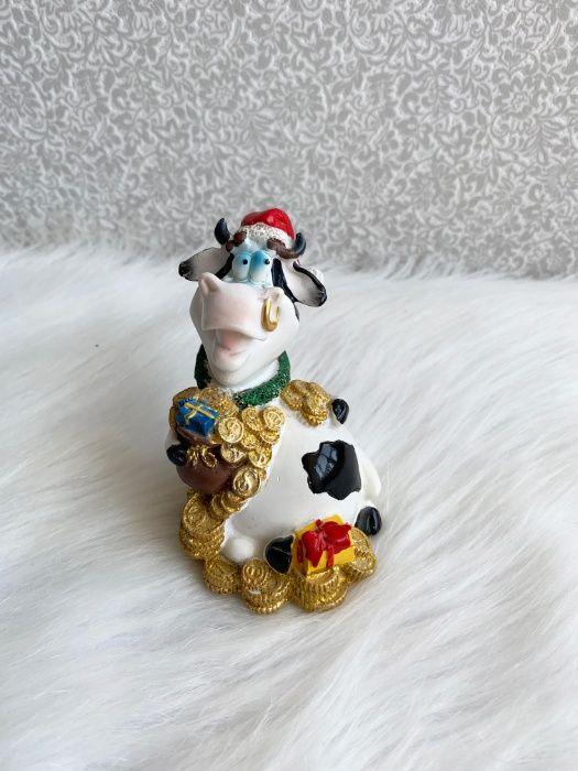 Копилка, копілка, статуэтка, статуетка, корова, новогодняя, новорічна