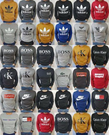 Bluzy męskie z logo Tommy Ck Armani Levis kolory i modele M-XXL!!!