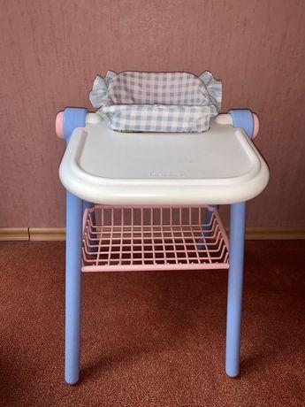 krzesełko do karmienia dla lalek akcesoria zabawki
