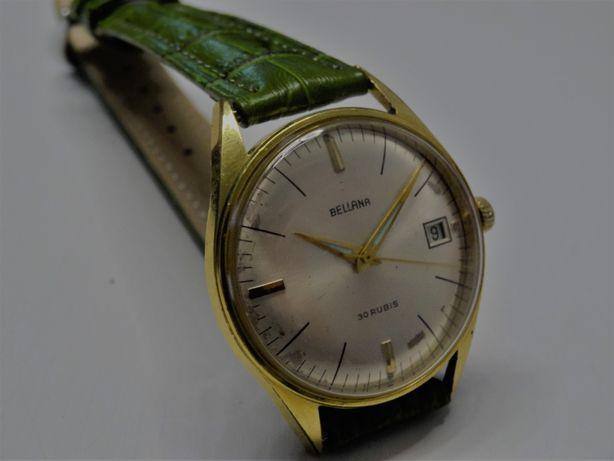 Zegarek vintage automatic BELLANA 30kamieni Eta.2773 20 micro. złota