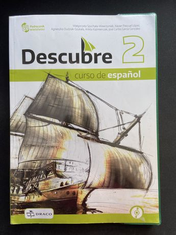 """podręcznik język hiszpański """"Descubre"""" 2"""