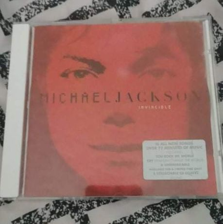 Plyta Invincible Michael Jackson