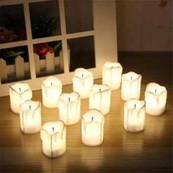 NEW! Имитация пламени свечи на батарейках LED