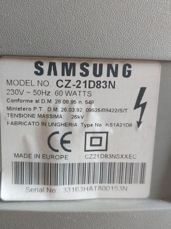 TV Samsung 20 cali używany