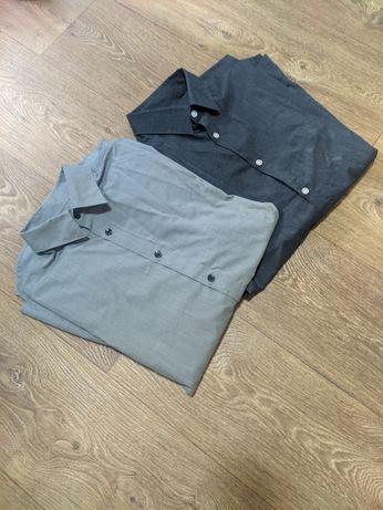 Две рубашки H&M Easy Iron, размер S