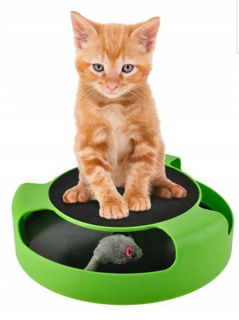 Zabawka dla kota - biegająca myszka