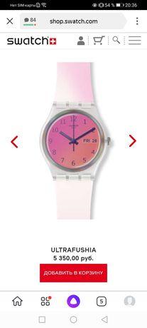 НОВЫЕ Swatch швейцарские часы
