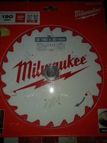 Tarcza Milwaukee 190x30x24