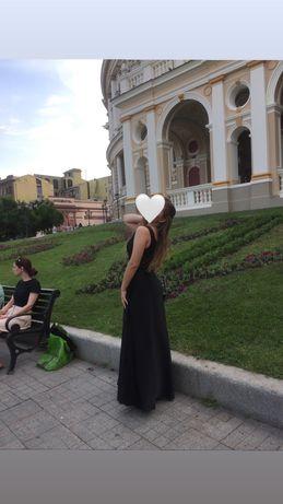 Платье вечернее/длинное/на выпускной Шёлк