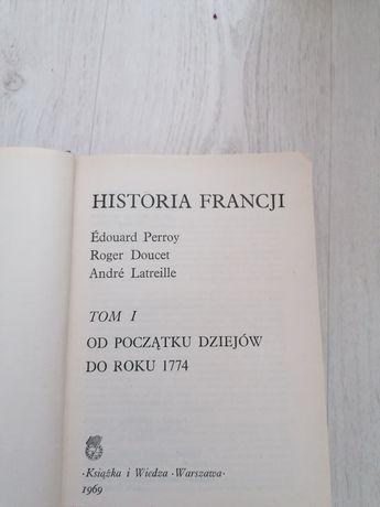 Historia Francji. Ksiazka. Antyk