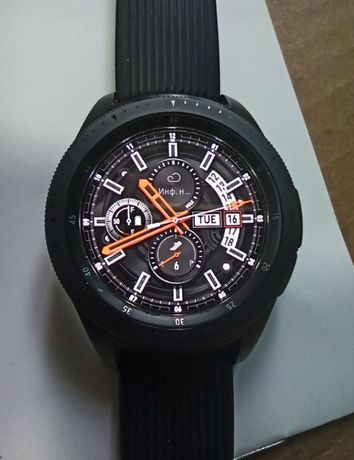 Смарт-часы Samsung Galaxy Watch 42mm Black SM-R810 обмен или продам