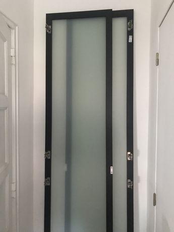 Porta Fevik Ikea pax c/dobradiça e puxador