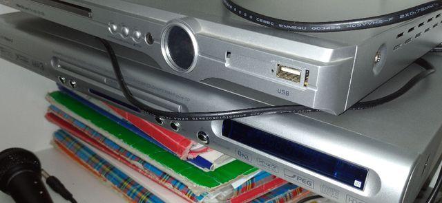 Dwa odtwarzacze DVD Manta Lord i Manta Prince 2 - częściowo sprawne