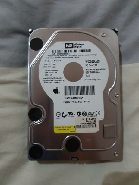 Disco SATA 250GB original Apple - macOS pré-instalado