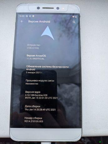 обмен Android 11 R, LeEco Coolpad Cool1 (C106) 4/32GB, Snapdragon 652