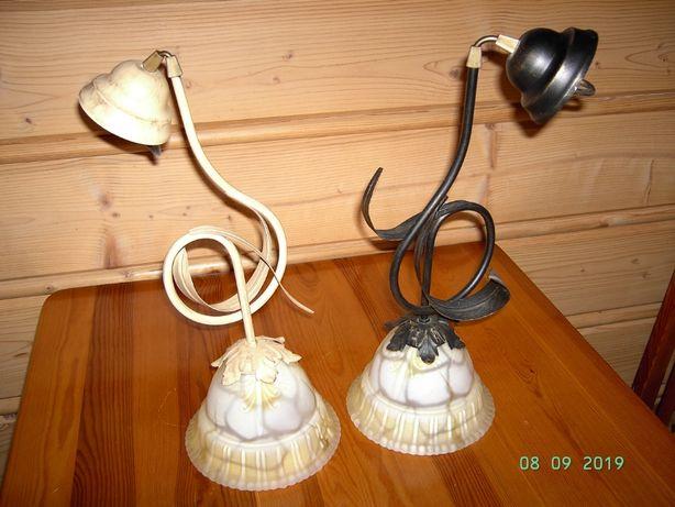 Piękne lampy wiszące- metaloplastyka
